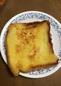 男の自炊料理 ふわふわフレンチトースト