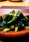 菜の花のごま油サラダ⁂