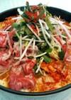 韓国料理屋さんの豚キムチ鍋~味噌チゲ~