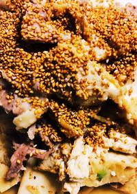 煮るだけ、厚揚げと豚バラの簡単煮込み