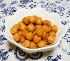 レンジで1分!ヒヨコ豆のバター煮☆お弁当