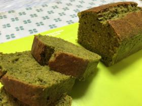 濃厚抹茶パウンドケーキ