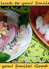 お刺身で海鮮ちらし&握り寿司\(^o^)