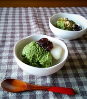 濃厚!豆腐抹茶アイス♡ワンボウルで簡単♪の写真