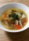 コンソメいらずの野菜スープ