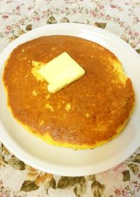 糖質制限!ココナッツ大豆粉パンケーキ