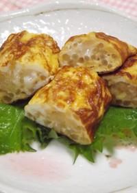 お弁当に♫もやしの卵焼き