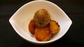 新ジャガイモの揚げ煮