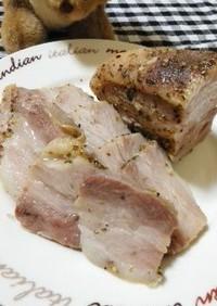 豚バラブロックで手作りハム ◆ハム2