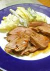 豚ヒレの焼き豚風ローストポーク