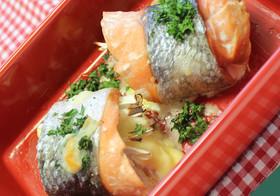 鮭のハーブ焼き