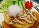 簡単☆フワフワのひじき入り豆腐ハンバーグ