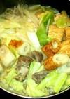 キャベツすき焼き★締めは卵とじ雑炊