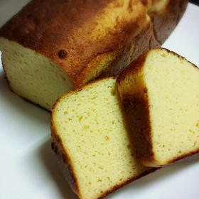 低糖質バターケーキ(サイリウム入り)