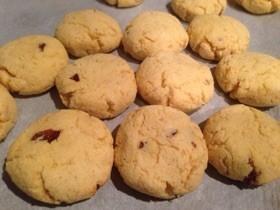 低糖質クッキー☆ラムレーズン風味