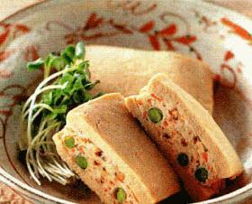 shin☆の高野豆腐の鶏ひき肉はさみ