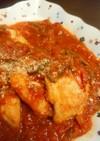 むね肉のトマト煮カレー風味