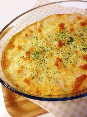 わが家の*餃子の皮de豆腐ラザニア