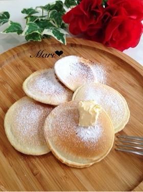 材料③♡天ぷら粉でパンケーキ