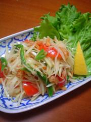 ☆ソムタム♪青いパパイヤのサラダ☆の写真