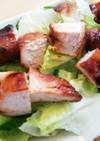 簡単!鶏むね肉が主役の満足グリーンサラダ