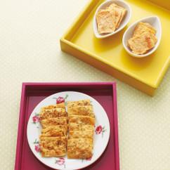 レンジで豆腐チップ3種