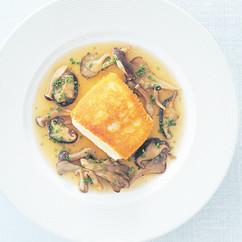 白身魚のチーズパン粉つけ焼き