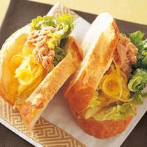 ツナとカレーマリネのサンドイッチ
