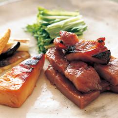 豚肉と豆腐のみそ漬け