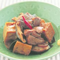 豚肉と厚揚げの角煮