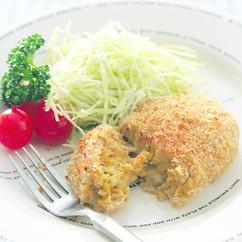 里芋の焼きコロッケ