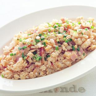 豆腐入りピリ辛混ぜチャーハン