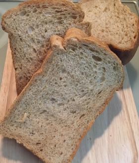 ♡早焼きでもOK♡香ばし黒糖玄米粉食パン