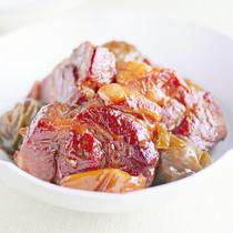 豚肉の梅酒煮