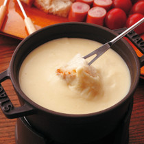 お豆腐のチーズフォンデュ