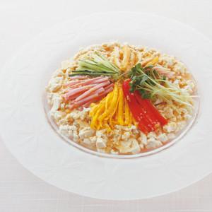 冷やし中華風サラダ
