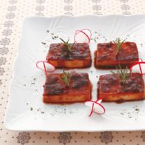 豆腐のバルサミコマリネ