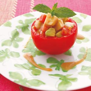 トマトの和風ファルシー