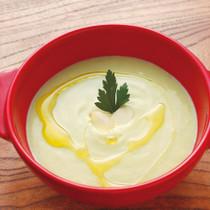 アボカドと豆腐のスープ