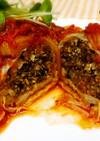 無塩料理☆ロールキャベツのトマト煮込み