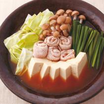 豚豆腐鍋→カルボナーラ