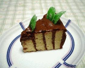 しましまチョコレートケーキ