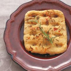 豆腐のモチモチフォッカッチャ