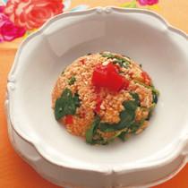 たっぷり野菜のクスクス豆腐
