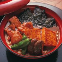 豆腐ON豆腐鶏丼