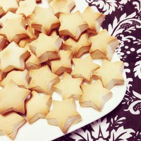 小麦粉卵不使用☆簡単型抜きクッキー