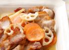 揚げ豚と揚野菜のおかずマリネ