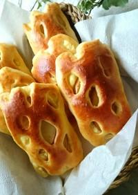 ブリオッシュで☆りんごカスタードのパン★