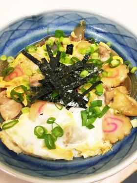 麺つゆで作る親子煮☆親子丼