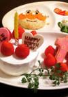 スポンジから手作り★1歳お誕生日ケーキ
